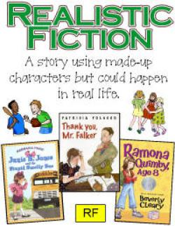 Stories clipart realistic fiction