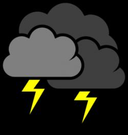 Thunder clipart thunderstorm
