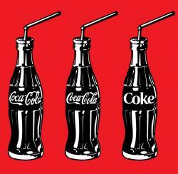 Coca Cola clipart bottled drink