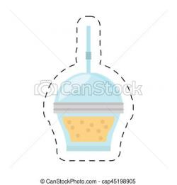 Smoothie clipart cup straw