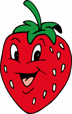 Smiley clipart strawberry