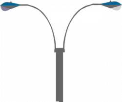 Streetlight clipart electrical pole