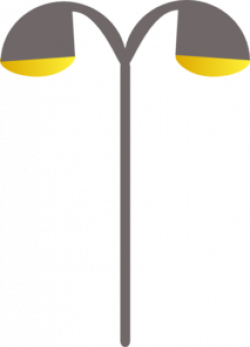 Streetlight clipart street lantern