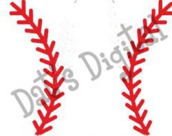 Baseball clipart string