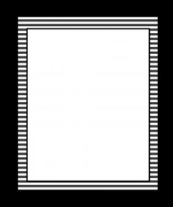 Stripes clipart border