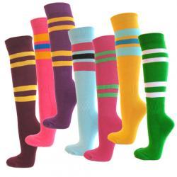 Stripe clipart long sock