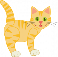 Tabby Cat clipart little cat