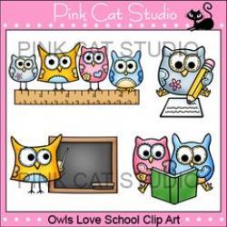 Estudio clipart pink cat