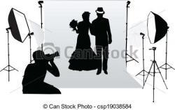 Estudio clipart professional photographer