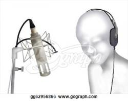 Microphone clipart recording studio