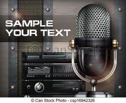 Estudio clipart recording studio