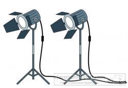 Estudio clipart studio light