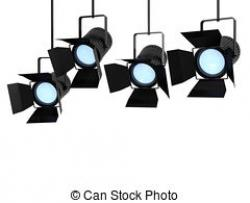 Lights clipart studio light