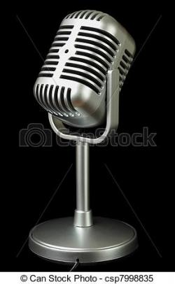 Estudio clipart studio microphone