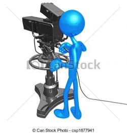 Studio clipart tv studio