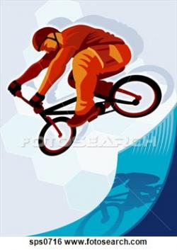 Stunt clipart cycle