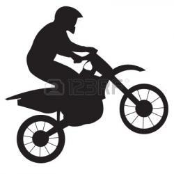 BMX clipart motocross bike
