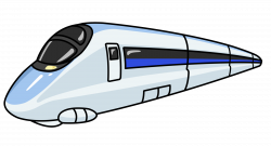 Underground clipart bullet train