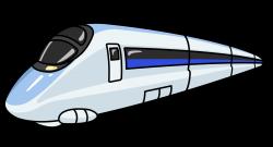 Underground clipart bullet train