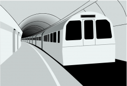 Underground clipart black and white