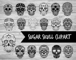 Sugar Skull clipart awesome