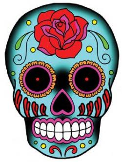 Sugar Skull clipart candy