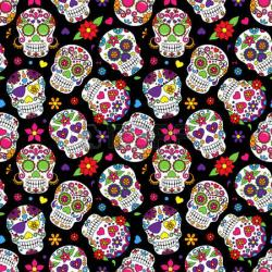 Sugar Skull clipart cartoon