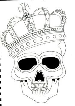 Skullcandy clipart crown