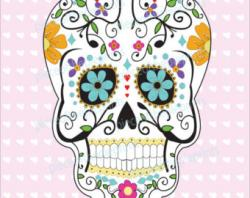Sugar Skull clipart easy