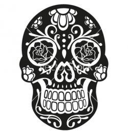 Sugar Skull clipart illustrator