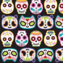 Sugar Skull clipart kawaii