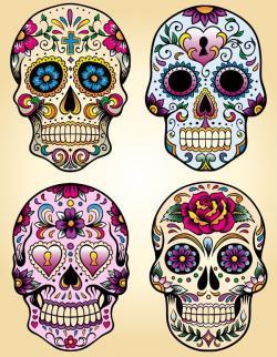 Skullcandy clipart mexican