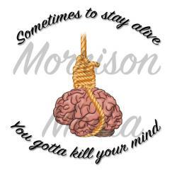 Suicide clipart brain