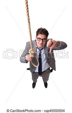 Suicide clipart upset man