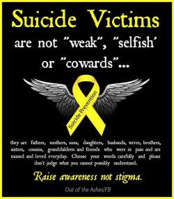 Suicide clipart weakness
