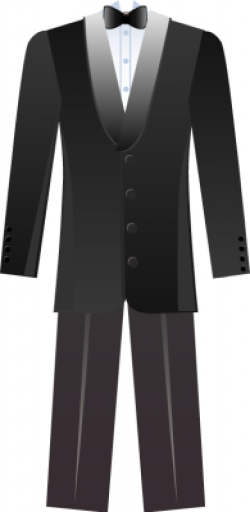 Groom clipart suit