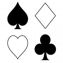 Deck clipart poker card