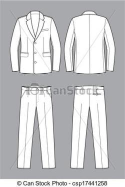 Suit clipart suit coat