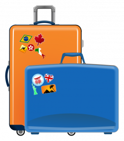 Travel clipart suitcase