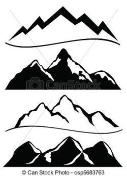 Summit clipart hill