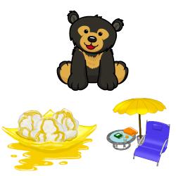 Sun Bear clipart