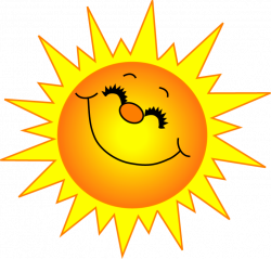 Sunbeam clipart happy sunshine