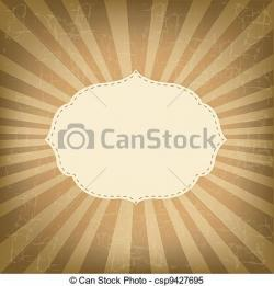 Sunbeam clipart sunburst