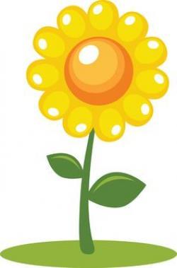 Iiii clipart sunflower