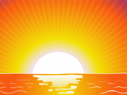 Dawn clipart sunrise