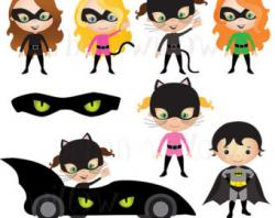 Catwoman clipart cute