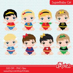 Supergirl clipart baby