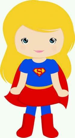 Super Girl clipart printable