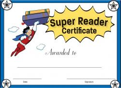 Super Girl clipart supe reader