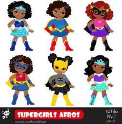 Batgirl clipart superhero kid